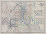 Topographic map of Boulder Canyon Project, Boulder Dam area, 1940