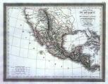 Map of Mexico and Central America, 1826