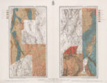 Maps of geographical surveys of parts of California, southeastern Nevada, Arizona and southwestern...