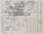 "Map of the city of Las Vegas, North Las Vegas, ""the Strip,"" 1960"