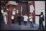 Photographs of Frontier Strike rally, Culinary Union, Las Vegas (Nev.), 1991 September 21 (folder...
