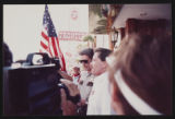 Photographs of Frontier Strike arrests, Culinary Union, Las Vegas (Nev.), 1991 September (folder 1...