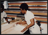 Maids working at the Maxim, Culinary Union, Las Vegas (Nev.), 1990s (folder 1 of 1)