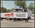 Photograph of Henderson Day parade, Culinary Union, Las Vegas (Nev.), 1990s (folder 1 of 1)