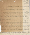 Letter from J. T. McWilliams (Good Springs, Nevada) to J. Ross Clark (Los Angeles), February 1,...