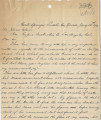 Letter from J. T. McWilliams (Good Springs, Nevada) to J. Ross Clark (Los Angeles), January 25,...