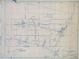 "Map of 24"" C.I. pipe line, Las Vegas, Nevada, September 1943"