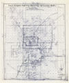 Map of the Las Vegas Valley showing artesian wells, circa 1920s