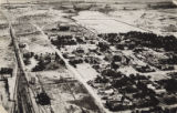 Aerial photograph of Las Vegas in the 1920s