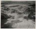 Aerial photograph of Sunrise Mountain and Nellis AFB area, circa 1949