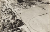 Aerial photograph taken of Dr. John S. Park home and Kiel Ranch, North Las Vegas, since 1920