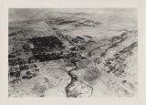 Aerial photograph of Las Vegas, partial view of high school, southwest direction, 1930