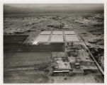 Aerial photograph of a farm in Las Vegas, 1964