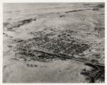 Aerial photograph of Las Vegas looking northeast, circa 1931