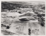 Aerial photograph of Cashman Field, southwest direction, after 1947
