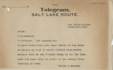 Telegram from Walter R. Bracken (Las Vegas) to W. H. Comstock and C. F. Miller (Los Angeles), June...