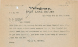 Telegram from Walter R. Bracken (Las Vegas) to W. H. Comstock and J. Ross Clark (Los Angeles),...