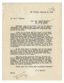 Letter from E. E. Bennett (Los Angeles) to Leo A. McNamee,  Including a telegram from R. E. Marks,...