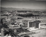 Aerial photograph of the Las Vegas Strip, circa 1975