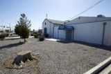 Photograph of first Temple Beth Sholom site at 1229 Carson Street, Las Vegas, Nevada, February 25,...
