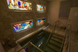 Photograph of the mikveh at Temple Beth Sholom, Las Vegas, Nevada, February 17, 2016