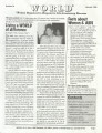 Newsletter, Women Organized to Respond to Life-threatening Diseases (WORLD), January 1998