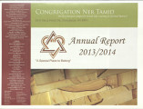 Annual report from Congregation Ner Tamid, 2013-2014