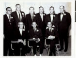 Photograph of past presidents of Temple Beth Sholom, Las Vegas (Nev.), circa 1978