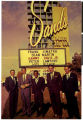Postcard of of the Rat Pack in front of the Sands Hotel, Las Vegas (Nev.), 1950s