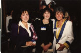 Photograph of Debra Cohen, Norma Friedman, and Dee Ober, 1990s