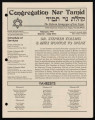 Newsletters from Congregation Ner Tamid (Las Vegas, Nev.), 1991