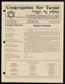 Newsletters from Congregation Ner Tamid (Las Vegas, Nev.), 1990