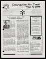 Newsletters from Congregation Ner Tamid (Las Vegas, Nev.), 2001