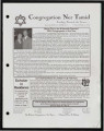 Newsletters from Congregation Ner Tamid (Las Vegas, Nev.), 2004