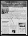 Newsletters from Congregation Ner Tamid (Las Vegas, Nev.), 2009
