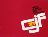 Correspondence, annual report, and gala program of the Jewish Federation of Las Vegas, 1984-2003