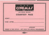 Ephemera and photographs from Cinemas 1-2-3, 1972-1989