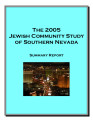 Jewish Community of Southern Nevada Summary Report of 2005, published 2007