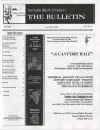 Newsletters from Temple Beth Sholom (Las Vegas, Nev.), 2005