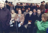 Photograph of Henry and Anita Schuster at unidentified event, circa 2000