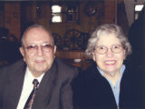 Photograph of Henry and Anita Schuster, circa 2000