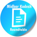 Transcript of roundtable interview with members of Midbar Kodesh, April 19, 2015