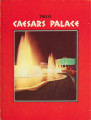 Hotel room brochure from Caesars Palace, circa 1969