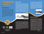 Brochure, Pioneer Trail of West Las Vegas community