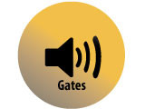 Audio recording clip of interview with Judge Lee Gates by Claytee D. White, December 5, 1996