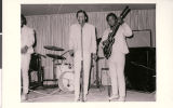 Photograph of unidentified musicians at Carver House Hotel and Casino