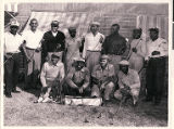 Photograph of Valley View Golf Club members at the Las Vegas Municipal Golf Course in 1958