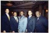 Photograph of black law enforcement officers, 2000