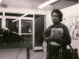 Photograph of Dorothy King at EOB center, circa 1965