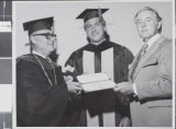 Photograph of Nevada Southern University commencement, Las Vegas, May 09, 1973